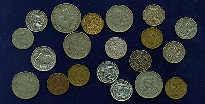 Ecuador  1919-1968  10 Centavos Coins, Group Lot Of (20)!