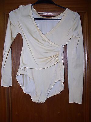 Vintage Gossard Silkskins Body/ Leotard Chest 32""