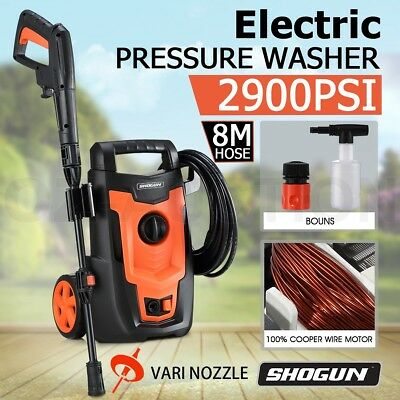 Electric High Pressure Washer Pressure Cleaner Sprayer with 8-Meter Hose