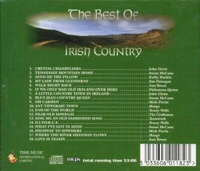 Various - Best of Irish Country - Various CD I1VG The Cheap Fast Free Post The