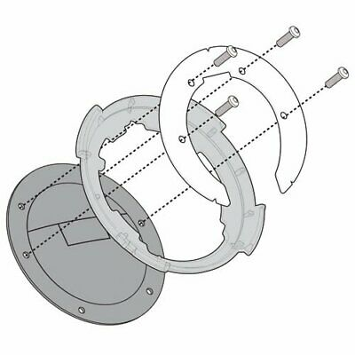 Specific Flange Givi BF09 for tank bags DUCATI Monster 796 - 2008