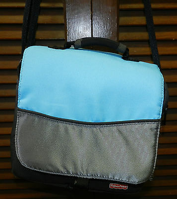 Fisher-Price Kid-Tough DVD Player Carry Case Blue
