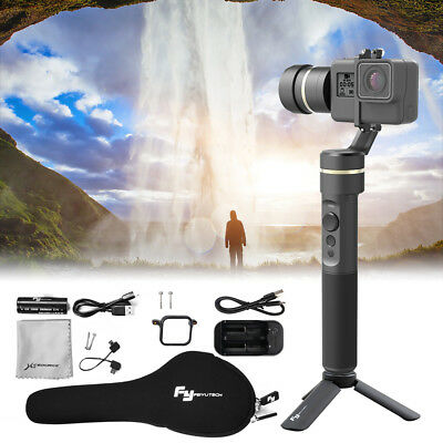 Feiyu G5 Splash-Proof Handheld Video Shooting Stabilizer für GoPro HERO 4 TV075