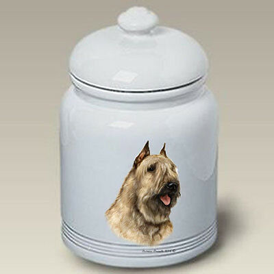 Ceramic Treat Cookie Jar - Bouvier des Flandres (TB) 34303