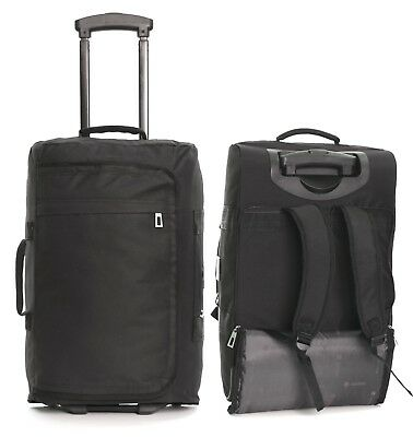Ryanair Cabin Approved Wheeled Hand Luggage Suitcase Trolley Bag Case Backpack