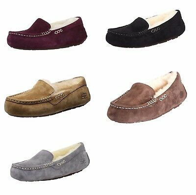 NEW UGG Australia 3312 Women's Ansley Moccasin Slippers Assorted Colors