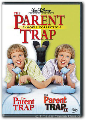 The Parent Trap / The Parent Trap II DVD New Hayley Mills