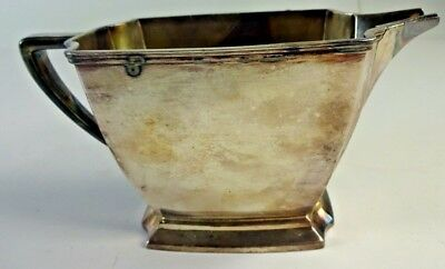 Vintage Art Deco 1847 Rogers Bros Silverplate LEGACY 008809 - Gravy Boat NO TRAY