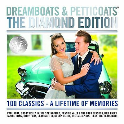 Dreamboats And Petticoats The Diamond Edition 4 Cd Various (2017)