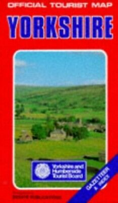 Yorkshire and Humberside (Official Tourist Map) Sheet map, folded Book The Cheap