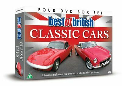 Best Of British Classic Cars [DVD] - DVD  JAVG The Cheap Fast Free Post