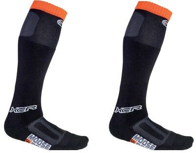 Moose Racing Adult Motorcycle MX ATV XCR Socks Black M-XL