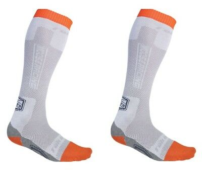 Moose Racing Adult Motorcycle MX ATV Sahara Socks Gray M-XL