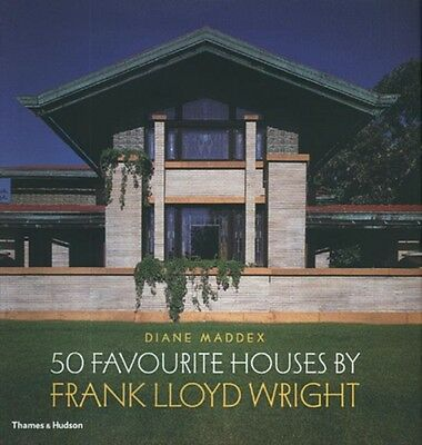 Frank Lloyd Wright: 50 Favourite Houses (Hardcover), Maddex, Dian...