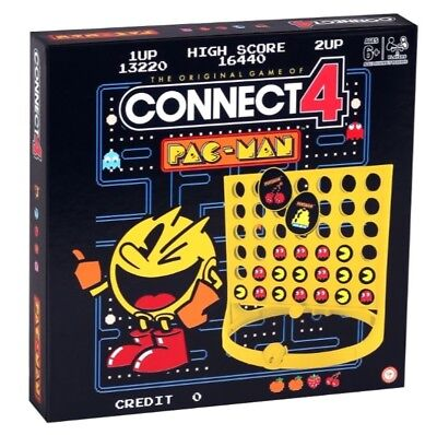Pac-Man Pacman Connect 4 Game Brand New
