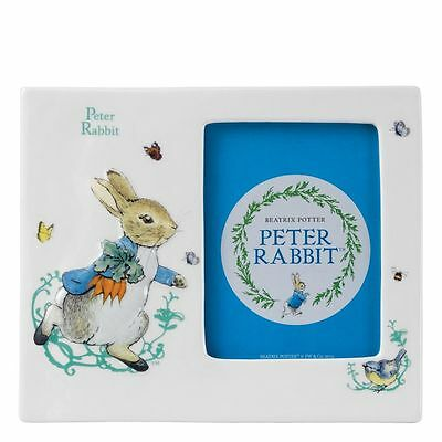 "Beatrix Potter Peter Rabbit Photo Frame 4x6""  Ideal Baby Christening Gift"