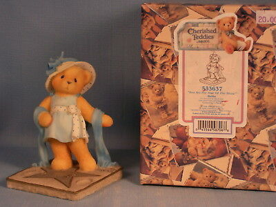 Bette - You Are The Star Of The Show - Cherished Teddies Figurine #533637