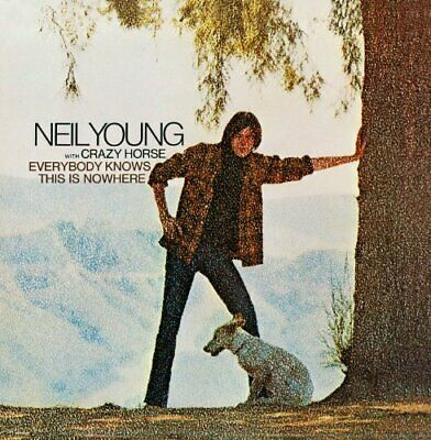 Neil Young - Everybody Knows This is Nowhere - Neil Young CD D7VG The Fast Free