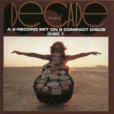 Neil Young - Decade - Neil Young CD CSVG The Fast Free Shipping