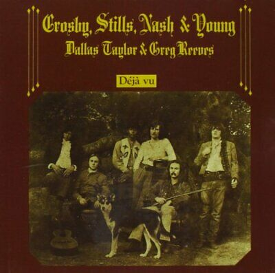 Crosby, Stills, Nash and Young - Dej... - Crosby, Stills, Nash and Young CD 0LVG