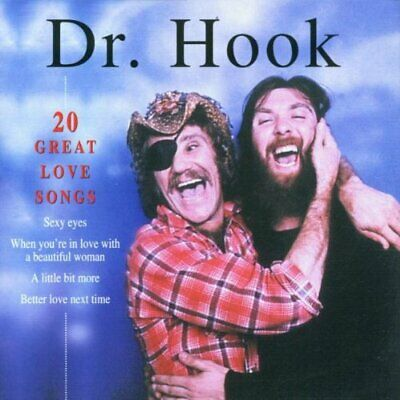 Dr. Hook - 20 Great Love Songs - Dr. Hook CD C5VG The Fast Free Shipping