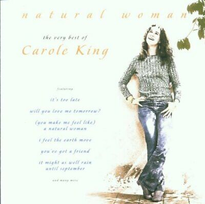 Natural Woman - The Very Best Of Carole King -  CD 52VG The Fast Free Shipping