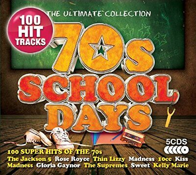 Various Artists - The Ultimate Collection: 70s Scho... - Various Artists CD YOVG