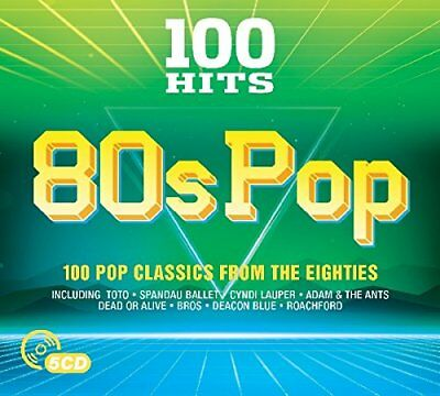Various Artists - 100 Hits - 80s Pop - Various Artists CD TDVG The Fast Free
