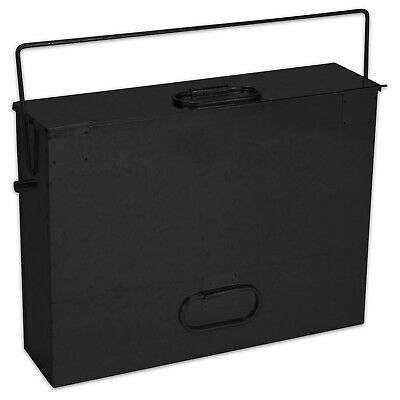 Fireside Premium Quality Metal Ash Carrier Hot Tidy Box Fireplace Accessory