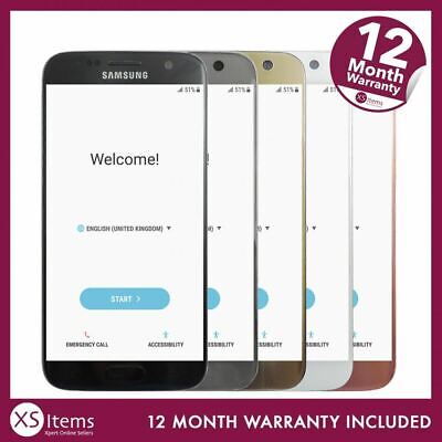 Samsung Galaxy S7 32GB Smartphone Gold/Black/White/Pink SM-G930F Unlocked/EE/O2