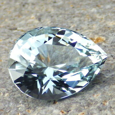 UNTREATED BLUE TOPAZ-RUSSIA 12.96Ct CLARITY VS1-RARE ORIGIN-FOR HIGH-END JEWELRY