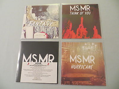 MSMR job lot of 4 promo CDs Fantasy Think Of You Hurricane Second Hand Rapture