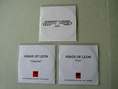 KINGS OF LEON job lot of 3 promo CDs Molly's Chambers Fans Charmer