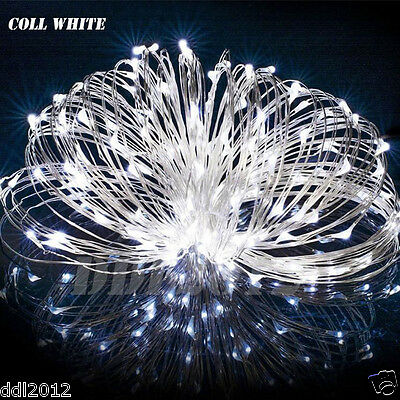 20M 200LED Solar Powered String Fairy Lights Christmas Wedding Party Home DecorA