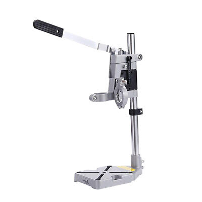 New Bench Drill Press Stand Double Clamp Base Frame Electric Drill Holder