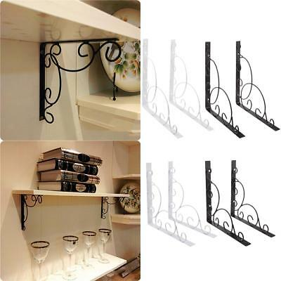Engraved Shelf Support Bracket Wall Mount Corner Triangle Brace L Shape Bracket