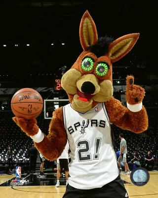 761e3053e SAN ANTONIO SPURS Coyote Mascot Bobblehead NBA Collectors Edition ...