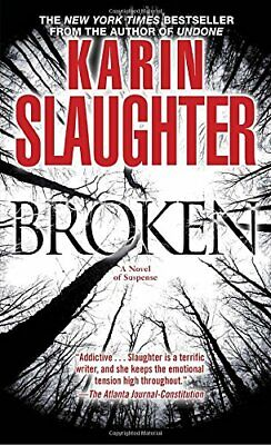 Broken by Slaughter, Karin Book The Cheap Fast Free Post