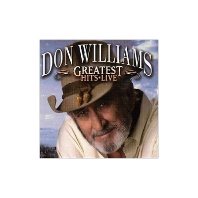 Williams, Don - Greatest Hits Live - Williams, Don CD PJVG The Cheap Fast Free