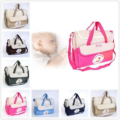 Baby Bags Multi-Function Baby Diaper Nappy Bag/Mummy Changing Set Handbag HY