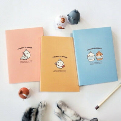 Molang Planner Ver.2 Diary Scheduler Journal Schedule Book Notebook Organizer