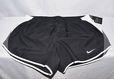 Nike Women's Dry-Fit Shorts 849394 010 Black/White