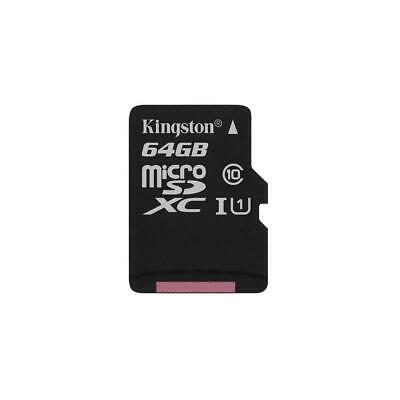 Kingston Technology 64GB Class 10 UHS-I microSDXC Memory Card without SD Adapter