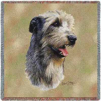 Lap Square Blanket - Irish Wolfhound by Robert May 3323