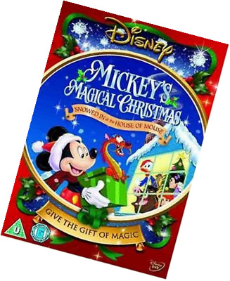 mickeys magical christmas snowed in at the house of