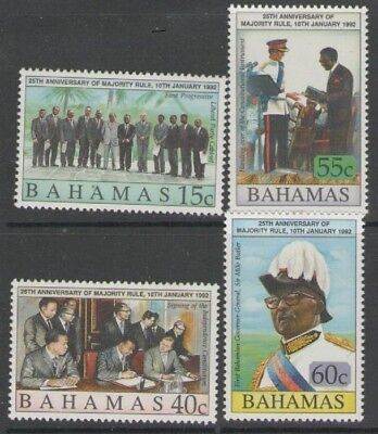 BAHAMAS SG924/7 1992 25th ANNIV OF MAJORITY RULE MNH