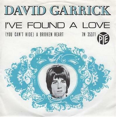 DAVID GARRICK I've Found A Love 1967 HOLLAND in FANTASTIC condition!
