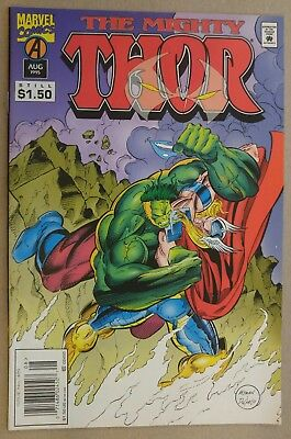"**Thor #489** AVENGERS! RAGNAROK! MOVIE! PLANET HULK! ""HELA""! THOR Vs. HULK! VF+"