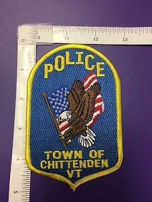 Town Of Chittenden  Vermont  Police  Shoulder Patch