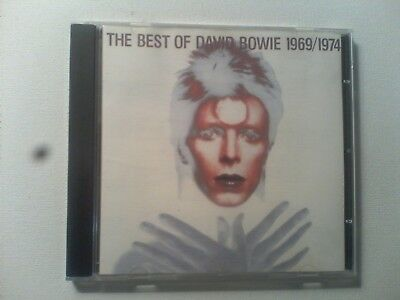 DAVID BOWIE:THE BEST OF 1974/1979 Cd Album Free Postage